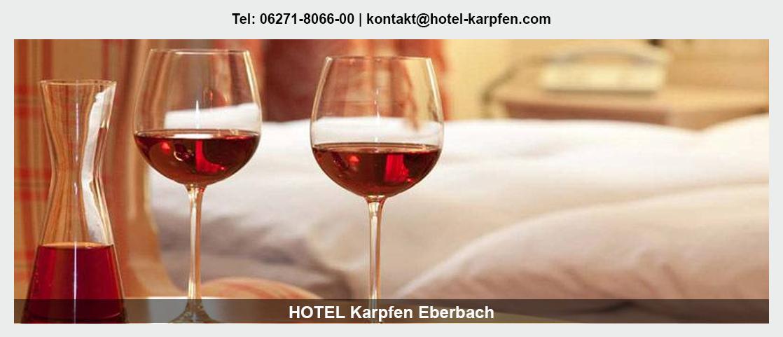 Hotel in Hasloch - Hotel Karpfen: Übernachtung, Familienfeiern