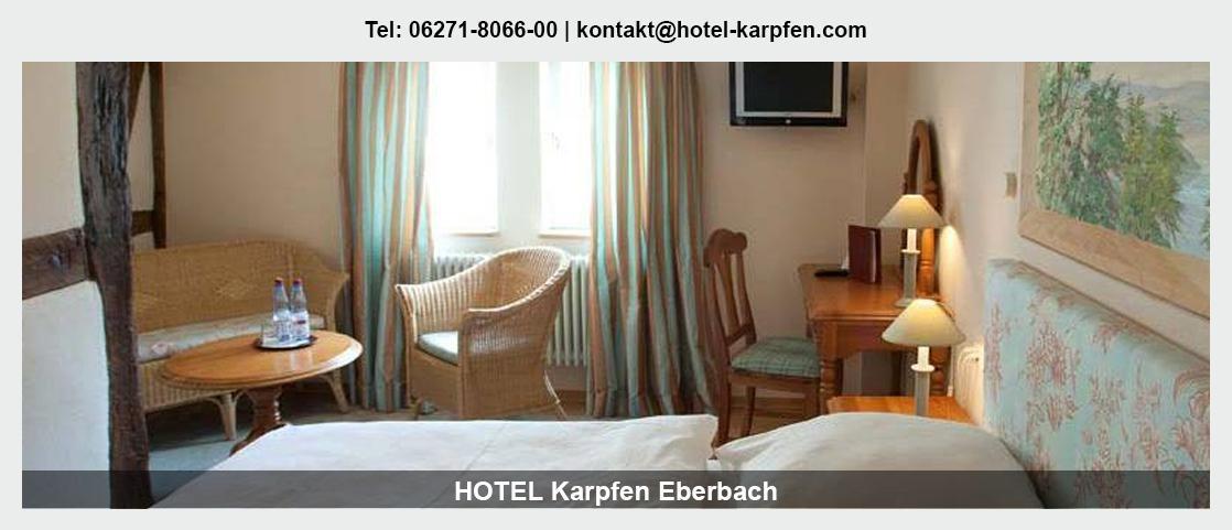 Hotel in Miltenberg - Hotel Karpfen: Übernachtung, Mittagstisch